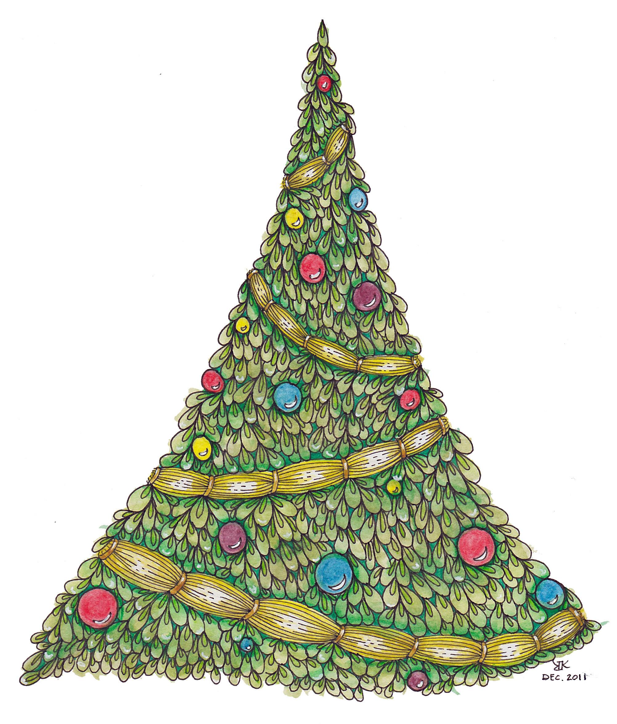 christmas on line: