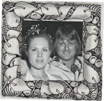 ...with our wedding photo inserted to give a feel for how it would look