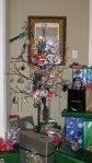 Our minimized Christmas tree this year