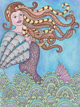 Tangled Mermaid entered in Tangled Fashionista contest.