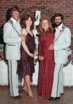 Kim, Kathy, Debbie and Vic(1978)