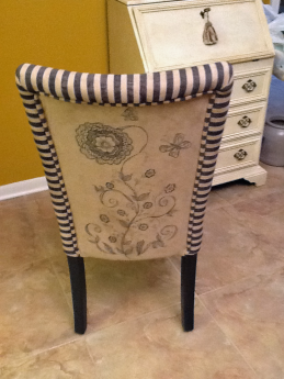 Zentangle Inspired Chair by Blanche Nicols